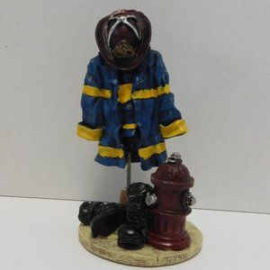 Unknown Other - Fire Fighter Outfit Figurine